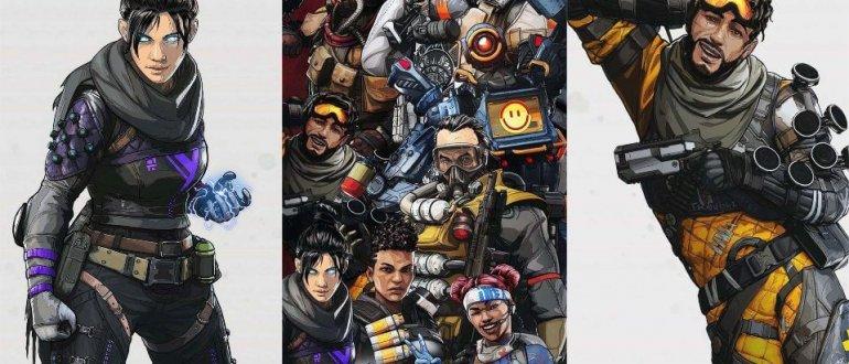 Обои Apex Legends для телефона (iPhone и Android)