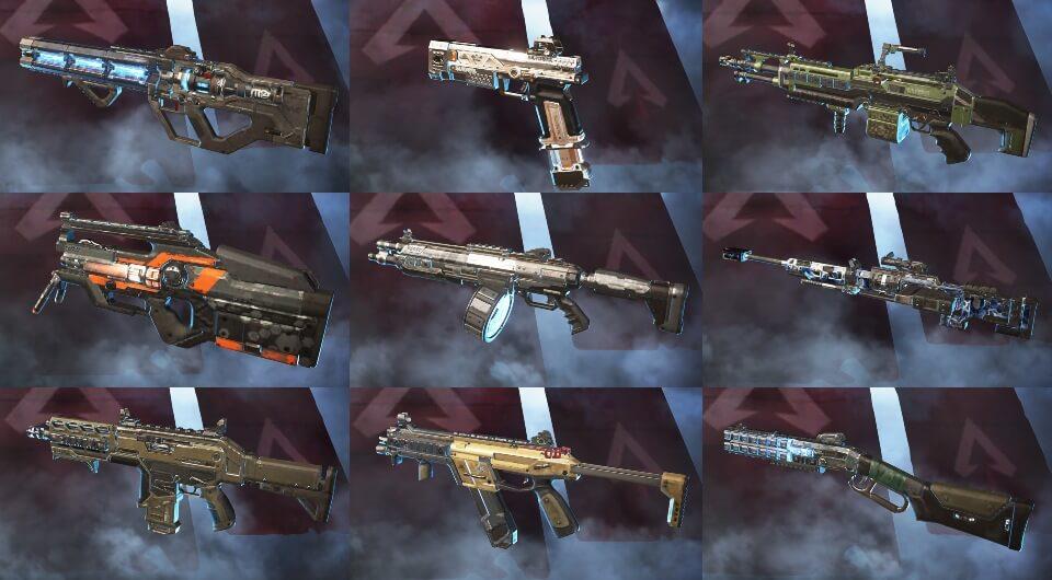 оружие в apex legends